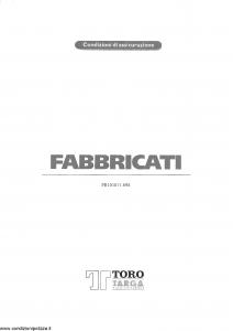 Toro Targa - Fabbricati - Modello pc101071.698 Edizione 19-05-1998 [29P]