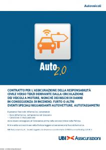 Ubi - Auto 2.0 Autoveicoli - Modello 1562 Edizione 01-07-2014 [116P]