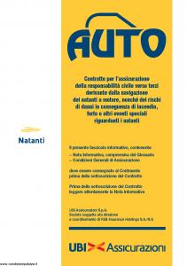 Ubi - Auto Natanti - Modello 1383 Edizione 01-08-2013 [44P]