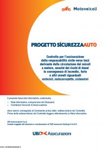 Ubi - Motoveicoli Progetto Sicurezza Auto - Modello 1397 Edizione 01-07-2012 [76P]