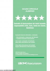 Ubi - Scudo Speciale Albergo - Modello 1357 Edizione 01-08-2011 [60P]
