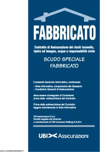 Ubi - Scudo Speciale Fabbricato - Modello 1116 Edizione 01-12-2010 [44P]
