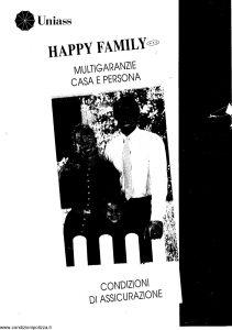 Uniass - Happy Family Multigaranzie Casa E Persona - Modello 403.037 Edizione nd [19P]