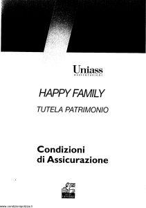 Uniass - Happy Family Tutela Patrimonio - Modello 403.103 Edizione 10-2001 [42P]