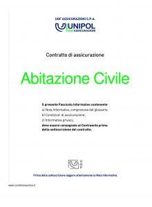 Unipol - Abitazione Civile - Modello s07017 Edizione 04-2011 [28P]