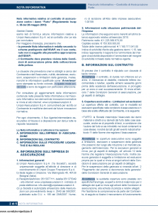 Unipol - Assicurazione Furto - Modello 4001 Edizione 01-11-2011 [34P]