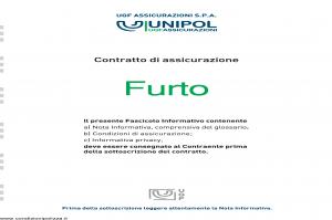 Unipol - Assicurazione Furto - Modello 4001 Edizione 02-2011 [36P]