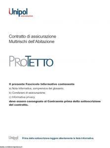 Unipol Assicurazione - Multirischi Dell'Abitazione - Modello 7201 Edizione 07-2011 [74P]