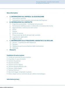 Unipol - Commercio Aurora Assicurazione - Multirischi Dell'Esercizio Commerciale - Modello 7614A Edizione 08-2011 [86P]
