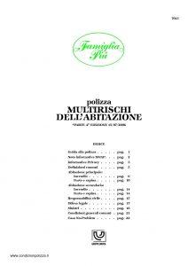 Unipol - Famiglia Piu Multirischi Dell'Abitazione - Modello 7023 Edizione 07-2006 [27P]