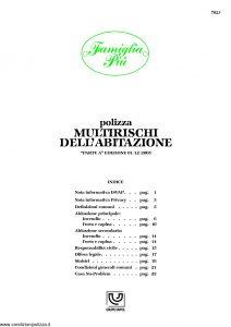 Unipol - Famiglia Piu Multirischi Dell'Abitazione - Modello 7023 Edizione 12-2005 [27P]