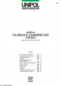 Unipol - Globale Fabbricati Civili - Modello 7026 Edizione 03-2004 [23P]