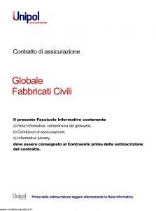 Unipol - Globale Fabbricati Civili - Modello 7026 Edizione 08-2011 [34P]