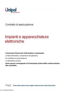 Unipol - Impianti E Apparecchiature Elettroniche - Modello 5015 Edizione 08-2011 [28P]