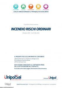 Unipol - Incendio Rischi Ordinari - Modello 3001 Edizione 06-2014 [34P]