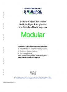 Unipol - Modular Multirischi Per L'Artigianato E La Piccola E Media Impresa - Modello 3021 Edizione 12-2010 [52P]