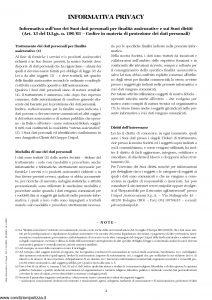 Unipol - Modular Polizza Multirischi Dell'Azienda Per L'Artigianato E La Piccola E Media Impresa - Modello 3021 Edizione 07-2006 [37P]