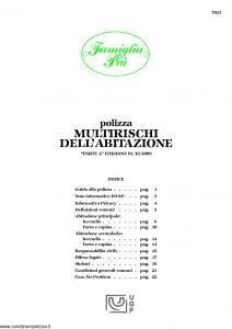 Unipol - Multirischi Dell'Abitazione Famiglia Più - Modello 7023 Edizione 10-2009 [28P]