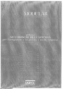Unipol - Multirischi Dell'Azienda Per L'Artigianato E La Piccola E Media Impresa - Modello 127 Edizione 01-2006 [SCAN] [36P]