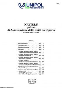 Unipol - Naviblu Polizza Unita' Da Diporto - Modello 8603 Edizione 05-2009 [28P]