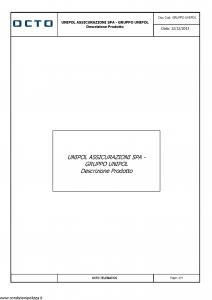 Unipol - Octo Telematics - Modello gruppo-unipol Edizione 12-12-2013 [4P]