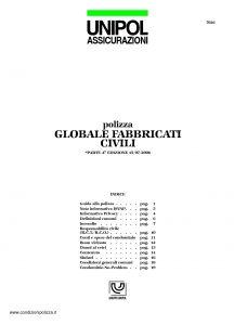 Unipol - Polizza Globale Fabbricati Civili - Modello 7026 Edizione 07-2006 [23P]