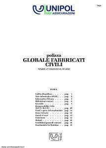 Unipol - Polizza Globale Fabbricati Civili - Modello 7026 Edizione 07-2010 [24P]