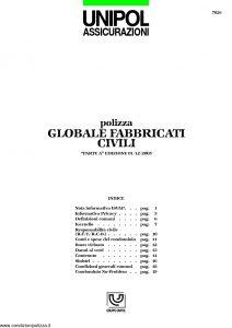 Unipol - Polizza Globale Fabbricati Civili - Modello 7026 Edizione 12-2005 [23P]