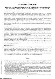 Unipol - Polizza Globale Persone E Beni - Modello 7099 Edizione 03-2006 [19P]