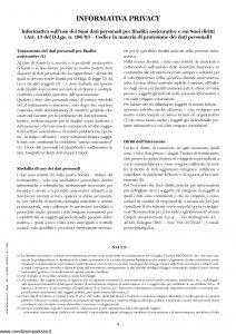 Unipol - Polizza Globale Persone E Beni - Modello 7099 Edizione 07-2006 [19P]