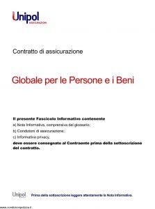 Unipol - Polizza Globale Persone E Beni - Modello 7099 Edizione 10-2011 [28P]