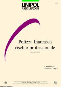 Unipol - Polizza Inarcassa Rischio Professionale - Modello 2029 Edizione 01-2003 [32P]