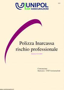 Unipol - Polizza Inarcassa Rischio Professionale - Modello 2029 Edizione 11-2009 [36P]