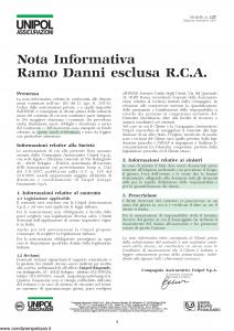 Unipol - Polizza Incendio Rischi Industriali - Modello 5051 Edizione 01-09-2007 [16P]