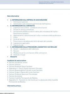 Unipol - Polizza Multigaranzie Per La Persona - Modello 1036 Edizione 08-2011 [58P]
