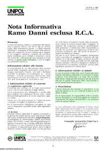 Unipol - Polizza Tutela Giudiziaria - Modello 2090 Edizione 10-2006 [12P]