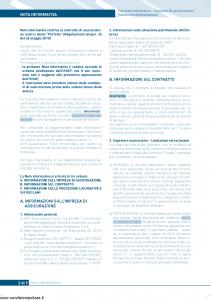 Unipol - Protetto Multirischi Dell'Abitazione - Modello s0701a Edizione 12-2010 [73P]
