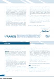 Unipol - Protetto Multirischi Dell'Abitazione - Modello s07201a Edizione 10-2009 [70P]