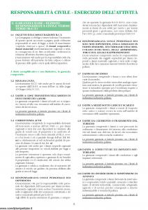 Unipol - Rc Impresa Programma Assicurativo Per La Responsabilita' Civile Dell'Impresa - Modello 2028 Edizione 01-08-2003 [21P]