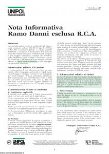 Unipol - Rc Impresa Programma Assicurativo Per La Responsabilita' Civile Dell'Impresa - Modello 2028 Edizione 01-09-2007 [32P]