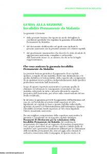Unipol - Sezione Invalidita Permanente Da Malattia - Modello 1036-ipm Edizione 01-2002 ver. 03-2006 [16P]