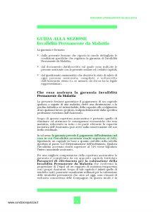 Unipol - Sezione Invalidita Permanente Da Malattia - Modello 1036-ipm Edizione 07-2006 [16P]