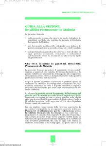 Unipol - Sezione Invalidita Permanente Da Malattia - Modello 1036-ipm Edizione 09-2007 [16P]