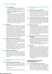 Unipol - Sezione Sanitaria Rimborso Spese Per Grandi Interventi Chirurgici - Modello 1036-san Edizione 01-2002 ver. 03-2006 [12P]