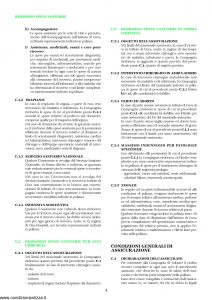 Unipol - Sezione Sanitaria Rimborso Spese Per Grandi Interventi Chirurgici - Modello 1036-san Edizione 01-2002 ver. 11-2003 [12P]