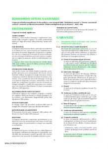 Unipol - Sezione Sanitaria Rimborso Spese Per Grandi Interventi Chirurgici - Modello 1036-san Edizione 05-2009 [12P]