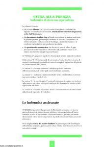Unipol - Unimedica Indennita' Di Ricovero Ospedaliero Da Malattia O Infortunio - Modello 1059 Edizione 01-2002 [20P]