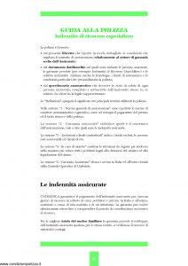 Unipol - Unimedica Indennita' Di Ricovero Ospedaliero Da Malattia O Infortunio - Modello 1059 Edizione 07-2006 [27P]