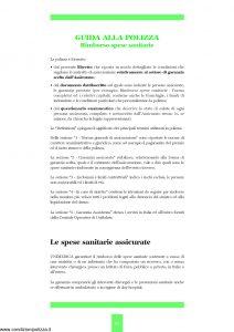 Unipol - Unimedica Rimborso Spese Sanitarie - Modello 1058 Edizione 07-2006 [35P]