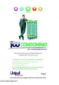 Unipol - You Condominio Globale Fabbricati - Modello 7260 Edizione 03-2013 [74P]